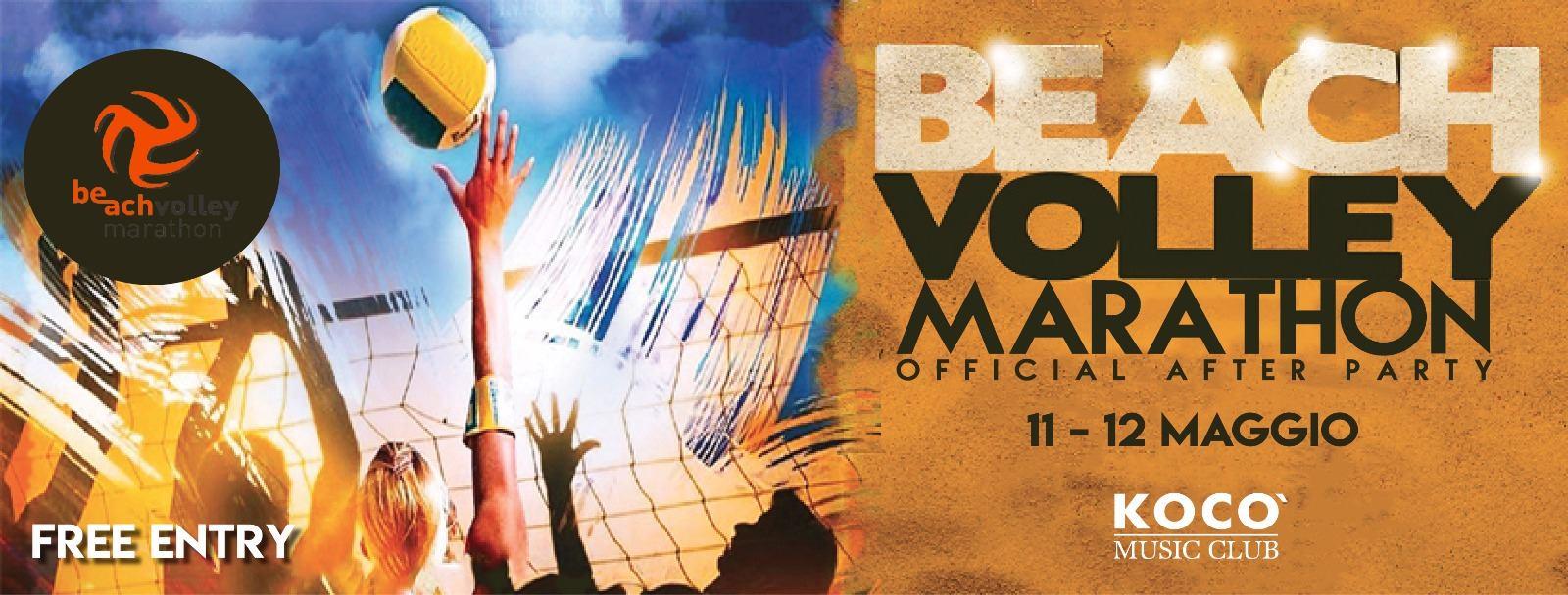 VEN 11 E SAB 12 Maggio: Beach volley marathon after party! 2018