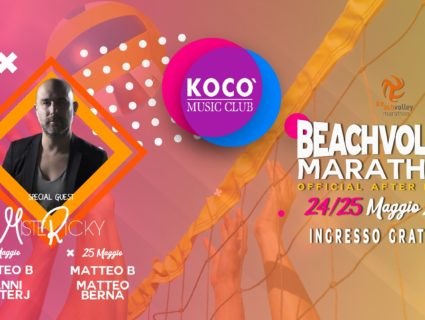 VEN 24 E SAB 25 Maggio: Beach volley marathon after party! 2019